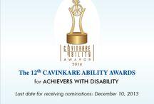 CavinKare ABILITY Awards 2014 / The 12th CavinKare ABILITY Awards 2014. For details: www.abilityfoundation.org / www.cavinkare.com