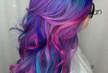 Coloured hair & Mermaid hair