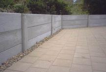 Retaining walls + Landscaping