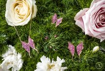 Flora collection / The Goddess of Spring loves to surround herself with the most luxuriant nature, a brightly coloured environment where we see butterflies dancing, encrusted with sapphires...