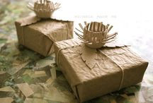 wrap packages - paper / incartare pacchetti carta