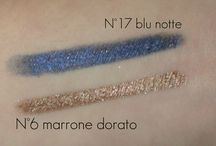 Swatches / Swatches of my cosmetic products :)