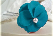 Turquoise and white wedding ideas / by Yvonne Sherry