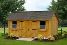 Backyard Garden Storage Sheds / At #UlrichBarnBuilders, we pride ourselves in being the premier provider of backyard #sheds,#Storagebarns offering you everything you want and need for #storage and #recreation.