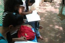 live sketching workshop - visit to Indorada park / live sketching workshop - visit to Indorada park by INIFD, Gandhinagar