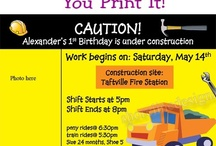 Under Construction / Anything related to construction / by Karen Dayton