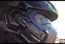 Motorcycles & Helmets