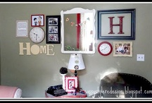 My Home: Ideas for the Walls / by Sophie E