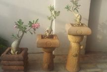Natural stone planters in india