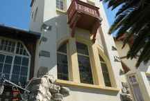 The Goerke House, Luderitz, Namibia / Museum: Art Nouveau architecture and interior in Namibia!