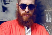 Hipster Beard / Thinking about growing a hipster beard? Then let us inspire you! As a hipsters you're always striving to be different, so let us help you out with a few cool beard ideas.