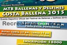 Recreativas Setiembre 2015 / Recreativas de MTB en Costa Rica para el mes de Setiembre 2015