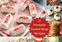 Cookie Swap Recipes / Check out these awesome ideas for your Cookie Swap with the girls!