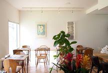 店舗デザイン事例:cafe orussell @武豊町