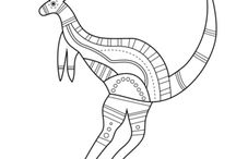 aboriginal kangaroo