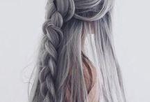 cabelo cinza