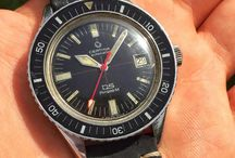 old diver watches