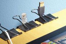 fils électrique fixation
