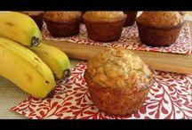 Recetas / Banana muffins