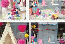 spring window display