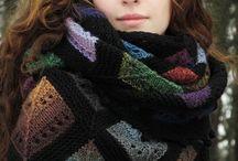 шаль- шарф