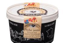 Sorbets plein fruits / Sorbets plein fruits des glaces La Belle Aude.