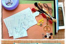 Videoer med bløde materialer / Inspiration til undervisere i håndværk og design
