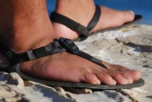 Shamma Sandals / Cool pics about barefoot running and huaraches and stuff.