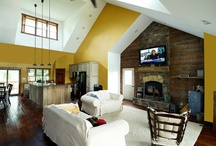 Custom Fireplaces / Find warm and cozy fireplace inspiration from our homeowners! / by Wayne Homes