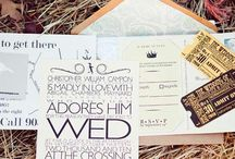 Invitations / by Alice In Weddingland