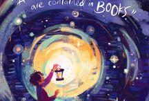 books + art