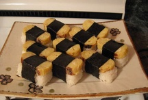 Sushi and Asian food / by Kelsi Kaplan