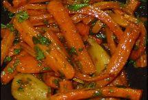 carottes confites