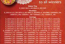 Dhanteras lucky draw winners / winner list