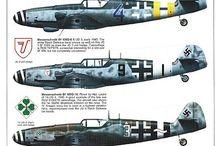Messerschmitt Bf-109 Painting