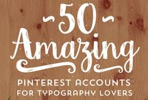 ♥ Resource: Fonts ♥ / Beautiful designer fonts and font bundles.