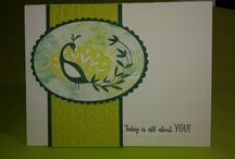 Cards--SU--Beautiful Peacock #