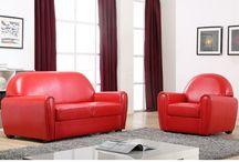 Tendance Vintage / Fauteuil design, pendule rétro, ou lampadaire orange 50's, craquez pour la tendance vintage !