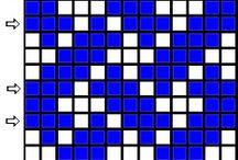 tkanie - tabliczki [wzory]
