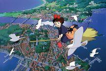 Studio Ghibli / Original Art by the notorious studio Ghibli