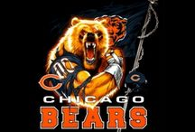 Chicago Bears Fan 4 Life / by Brandi Strong