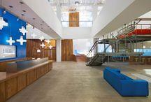 TE Office Branding Ideas / Shared board for interior decoration ideas for TE Office in Dubai / by Liz Riemersma