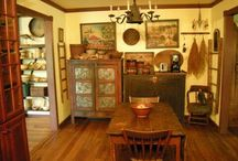 Primitive/Country/shabby/Vintage/ Kitchens  / All things adorable for the kitchen!  / by Nicole S