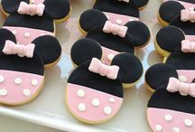 Mickey y minnie y disney / Galletas icing sugar