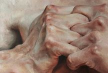 oil painting hands