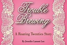 Sparkling Vintage Fiction / Historical fiction by Jennifer Lamont Leo