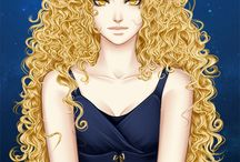 Portrait ● Female ● Curly Hair