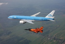 KLM/private jets
