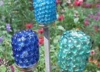 creative garden idea's