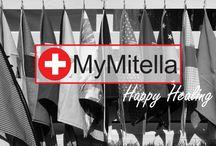 My Mitella / Een uniek assortiment zorgproducten die  leed dragelijk maken & pijn verzachten.  o.a. - Vrolijke Mitella's & armslings - Praktische DOUCHEHOEZEN - kids EHBO kits - Gipstattoos  - Hippe zorgaccessoires zoals: VERPLEEGSTERSHORLOGES & Stethoscopen.   Missie: Happy Healing